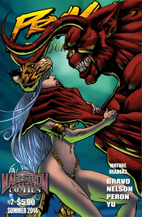 PTJW2 Prymal: The Jungle Warrior #2 (3rd Print)