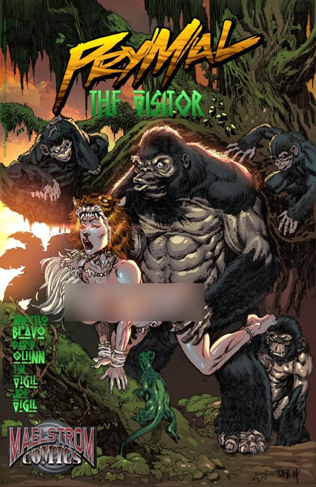 PNMLC Prymal: The Visitor #1 Beastiality Edition(2nd Print)