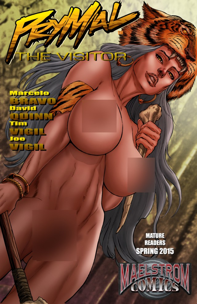 VHN Prymal: The Visitor #1 Nude Cover Edition(2nd Print)