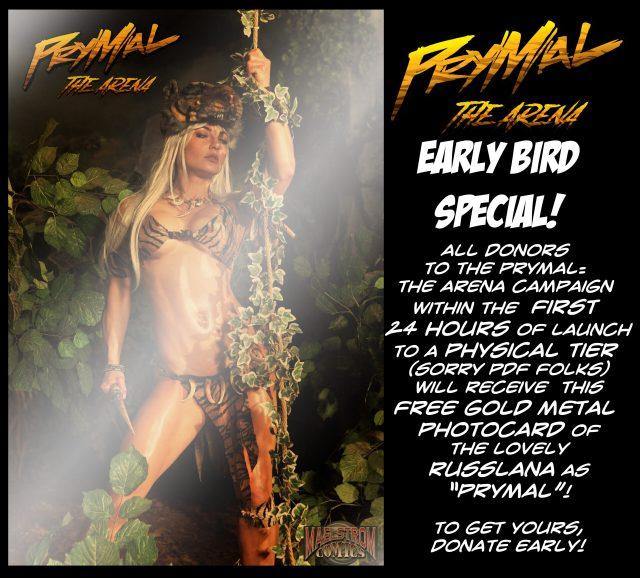 Prymal Photo Metal Card Art Advert