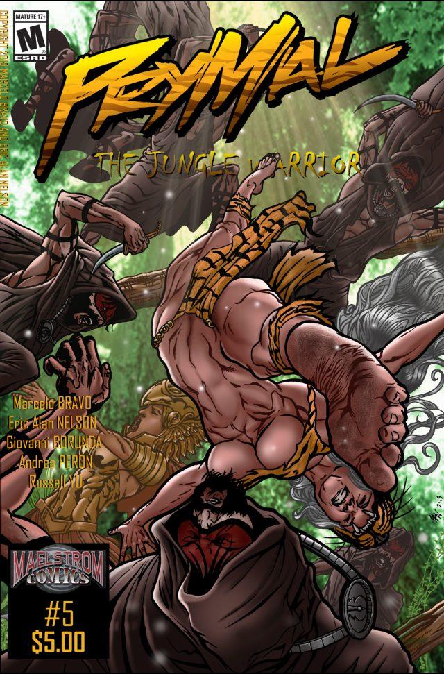 PTJW5 Prymal: The Jungle Warrior #5 (2nd Print)