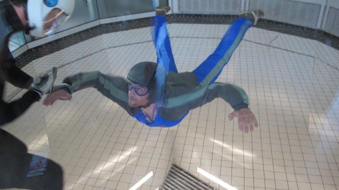Indoor Skydiving in Wien - Wolfi in Action!