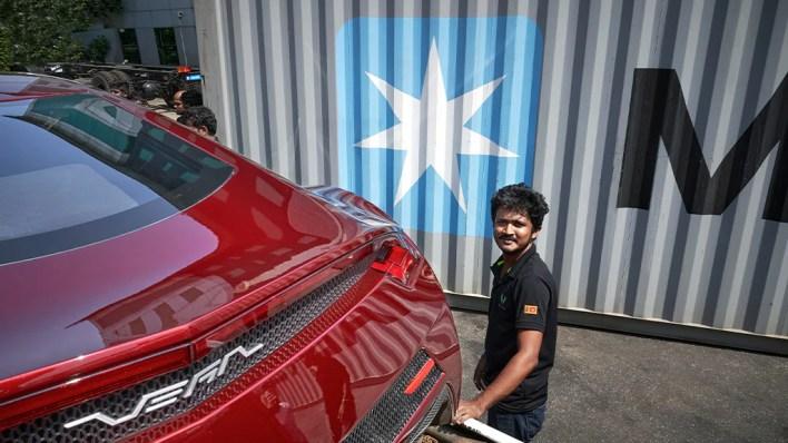 Sri Lanka's first electric super car - Vega