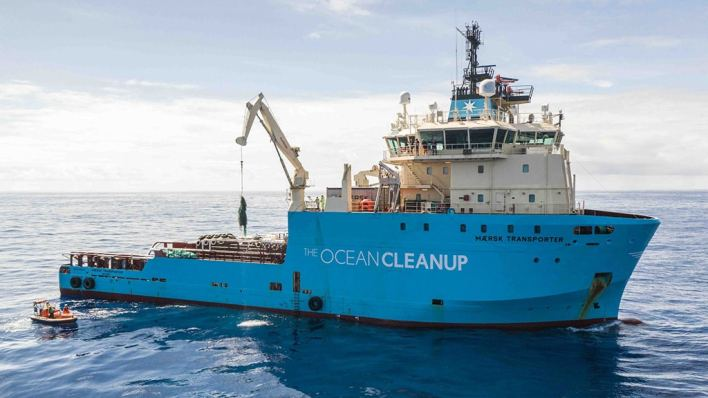 The Ocean Cleanup extend relationship with new three-year partnership.