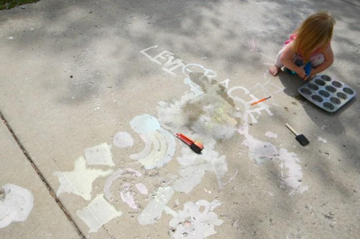 Side Walk Chalk Paint!