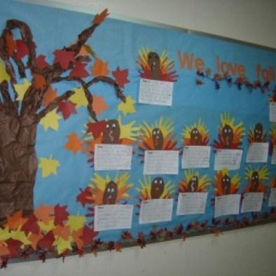 Autunno pannelli per decorare l 39 aula for Addobbi autunnali per l aula