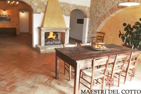 cucina in cotto fatto a mano. 5 Idee Per Una Casa Con Arco Maestri Del Cotto