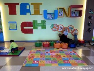 Bravo à l'aéroport de Taichung pour son aire de jeux :)