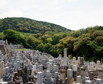 Cimetière à Kyoto