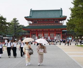 Heian Shrine, l'un des plus beaux sanctuaires de Kyoto
