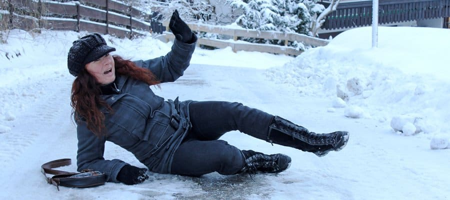 Slip And Fall Incidents On The Rise As Winter Weather Hits Maryland
