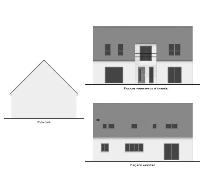 maison avec combles aménagés
