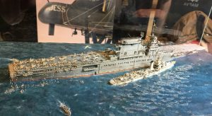 The best of Show from 2015 USS Lexington in 1/700th scale