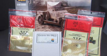 Update parts for the Copper State Models Lanchester Armoured Car