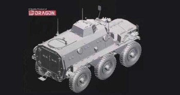 A Saracen from Dragon in 1/35th scale