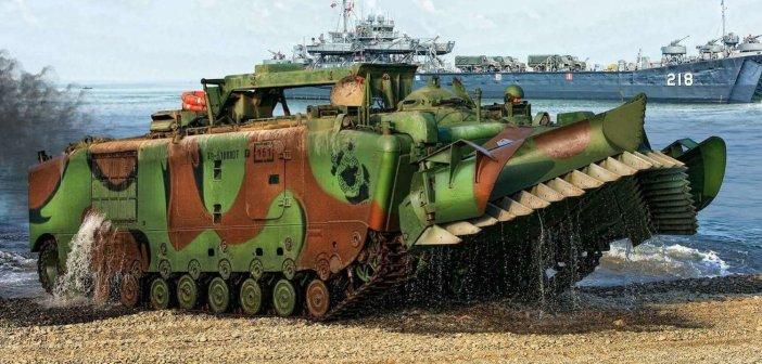 Amusing Hobbies' 1/35 LVTE1 Landing Vehicle – Tracked, Engineer