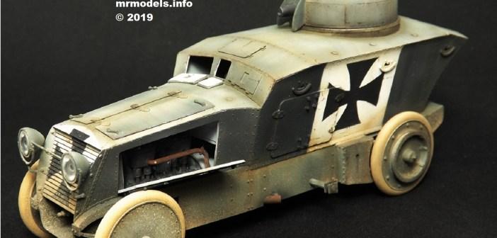 Member's Special Offer – Romfell Panzerwagen WWI