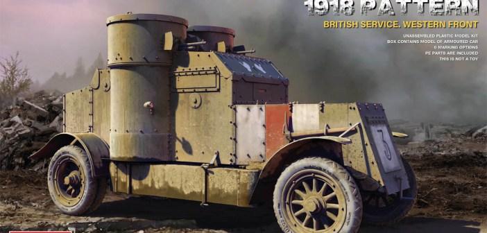 Mini Art releases WW1 British Austin