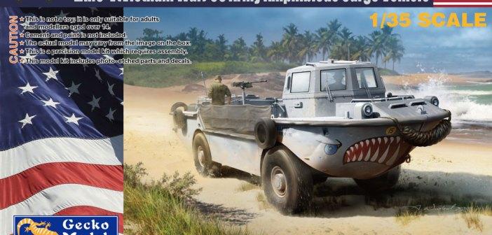 Gecko to release LARC-V Amphibious Cargo Vehicle