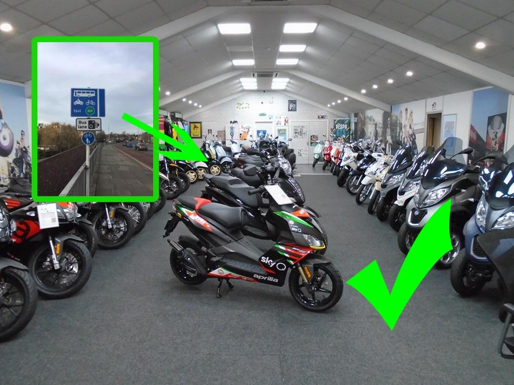 Cambridgeshire encourage people to use motorcycles