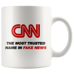 Buy CNN Fake News Mug | MAGA-Shop $14.99