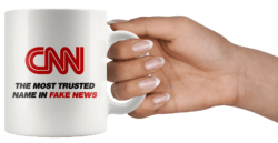 CNN Fake News Coffee Mug - MAGA-Shop