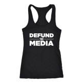 Defund the Media - Black Tanktop for sale - $22.99
