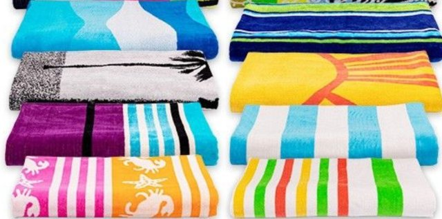 Click here to see more of Mike's MyPillow beach towels.
