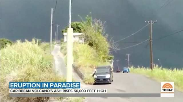 Volcano Erupts On St. Vincent, Officials Will Only Evacuate Those Who Are Vaccinated