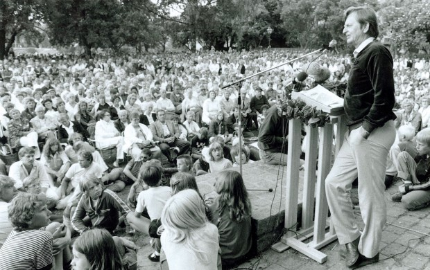 Palme i Almedalen 1982