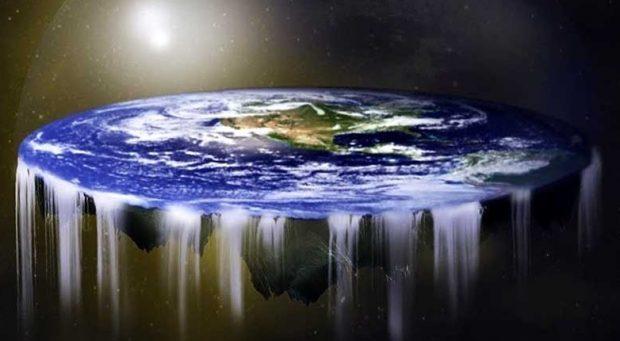 """""""Jorden är platt"""""""