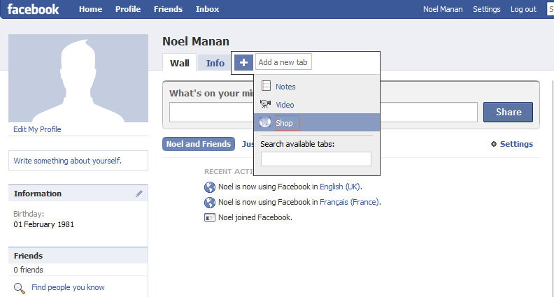 Shopializable Installation Facebook Application For
