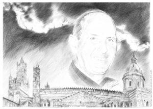 ritratto di Padre Pino Puglisi