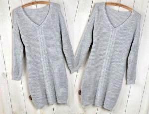 dámské zimní šaty