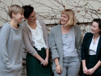 Sarah Pollinger, Lola Mora, Sara Wolf und Milena Glimbovski