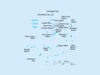 Irgendwo im südchinesischen Meer …©CIA World Factbook