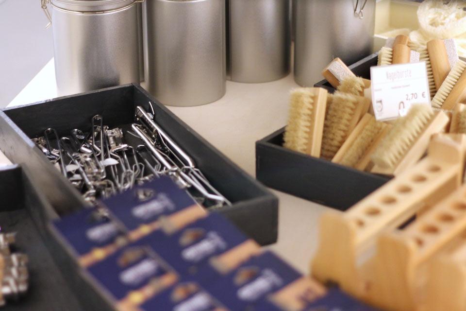 »Fokus auf der Vermeidung von Plastik«: Gebrauchsartikel bei »Ohne«