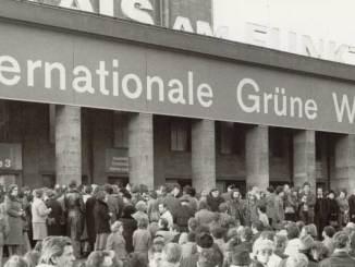»Internationale Grüne Woche« 1978: Aus einer Zeit, in der Lebensmittelverschwendung (noch) keine Rolle spielte. ©Foto: Archivbild Internationale Grüne Woche