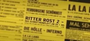 Im Kino: »Ritter Rost 2 – das Schrottkomplott«