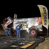 Jak se čistí mašiny na Dakaru?