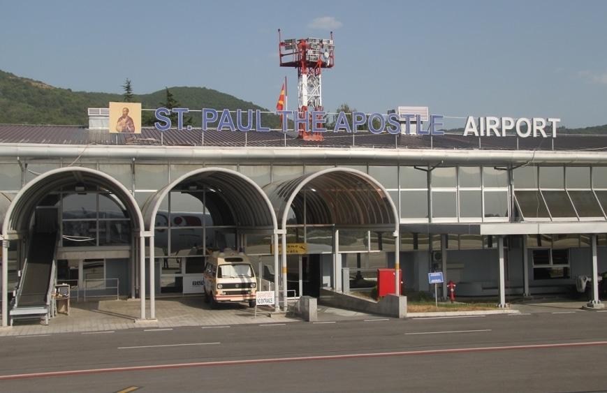 1,2 милиони патници на аеродромите во Скопје и Охрид во првата половина од 2019 година