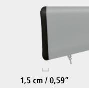 recoil pad arma blaser 15 cm