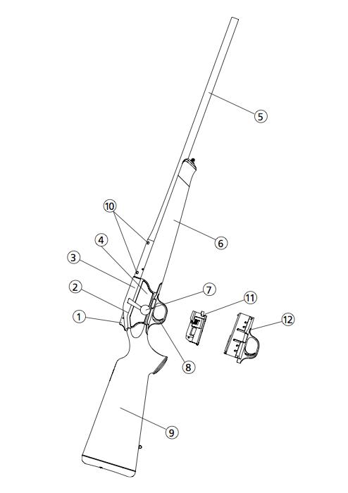 Blaser R8. Manual utilizare arma de vanatoare