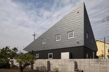 Дом под крышей в Японии
