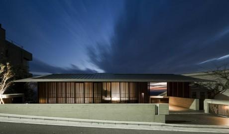 Дом с видом на океан в Японии
