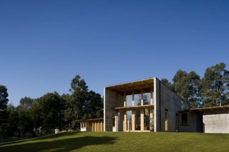 Бетонный дом в Португалии 2