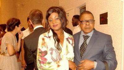 Nila Mbungu et Sabine Lukusa