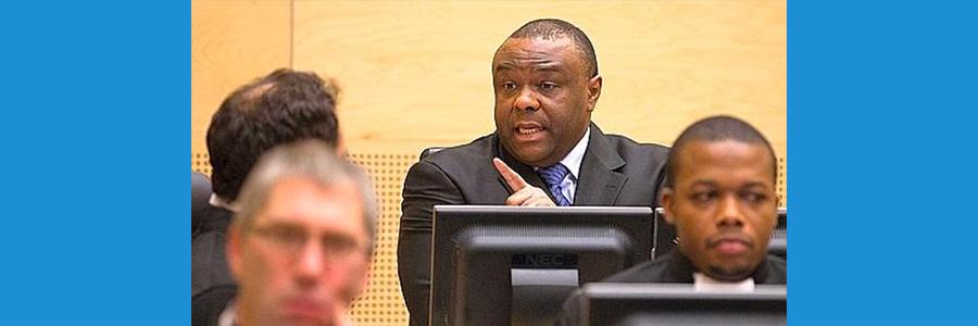 Verdict de l'affaire CPI-Jean Pierre Bemba, du 21 mars 2016: Emmanuel Ikabanga du MLC-France à La Haye pour soutenir JP.Bemba.