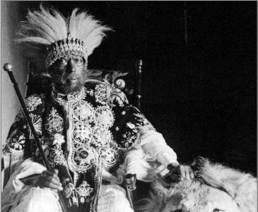L'empereur éthiopien Menelik