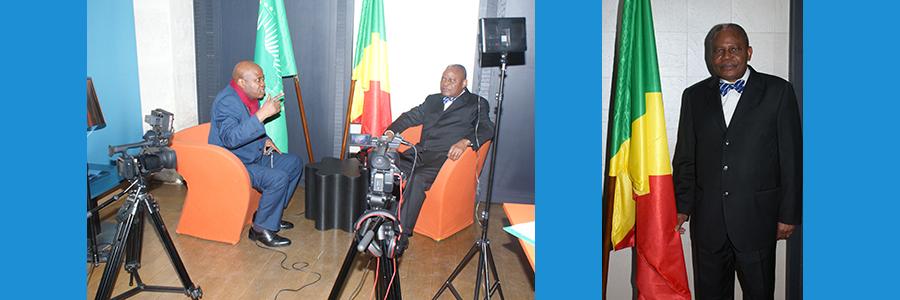 Homme d'Etat congolais Benoît Koukebene(Congo-Brazzaville):1ère interview politique de 2016.
